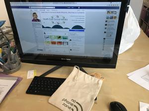 North Tyneside Social Media Training, No Phone, Zone